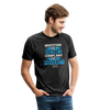 Gratitude is riches complaint is poverty Unisex Tri-Blend T-Shirt - heather black