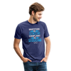 Gratitude is riches complaint is poverty Unisex Tri-Blend T-Shirt - heather indigo