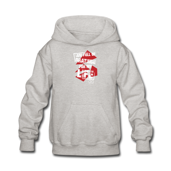 Kids' Hoodie - heather gray