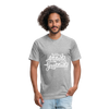 Fitted Cotton/Poly T-Shirt by Next Level - heather gray