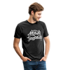 Unisex Tri-Blend T-Shirt - heather black