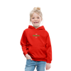 I am enthusiastic Kids' Premium Hoodie - red