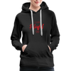 I am powerful super comfortable Women's Premium Hoodie - black