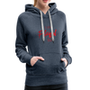 I am powerful super comfortable Women's Premium Hoodie - heather denim