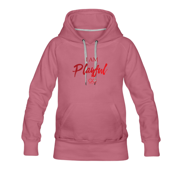 I am powerful super comfortable Women's Premium Hoodie - mauve