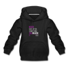 Never give up on something you believe in  Kids' Premium Hoodie - black