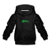 Kids' Premium Hoodie  I AM RICH. - charcoal gray