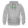 I am enthusiastic mens hoodie - heather gray