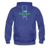I am enthusiastic mens hoodie - royalblue