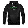 I am enthusiastic mens hoodie - charcoal gray