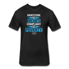 Gratitude is Riches Complaint is Poverty Next Level Mens t-shirt - black