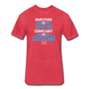 Gratitude is Riches Complaint is Poverty Next Level Mens t-shirt - heather red