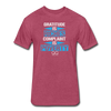 Gratitude is Riches Complaint is Poverty Next Level Mens t-shirt - heather burgundy
