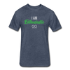 I Am Enthusiastic mens t-shirt - heather navy
