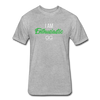 I Am Enthusiastic mens t-shirt - heather gray