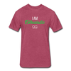 I Am Enthusiastic mens t-shirt - heather burgundy