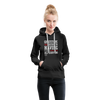 Gratitude is the Secret Women's Premium Hoodie - black
