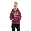 Gratitude is the Secret Women's Premium Hoodie - burgundy