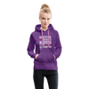 Gratitude is the Secret Women's Premium Hoodie - purple
