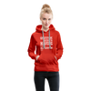 Gratitude is the Secret Women's Premium Hoodie - red