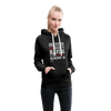 Gratitude is the Secret Women's Premium Hoodie - charcoal gray