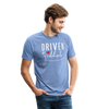 Driven by Gratitude Bella Mens t-shirt - heather Blue