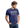 Driven by Gratitude Bella Mens t-shirt - heather indigo