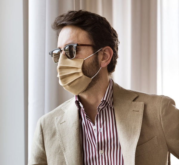 Sartorial Face Mask and Sunglasses