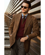 Fabio Attanasio Burgundy Cashmere Sleeveless Cardigan The Fleece Milano