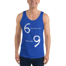 "Load image into Gallery viewer, ""Doh Tek A Six"" Unisex Tank Top - ULTRAmarine"