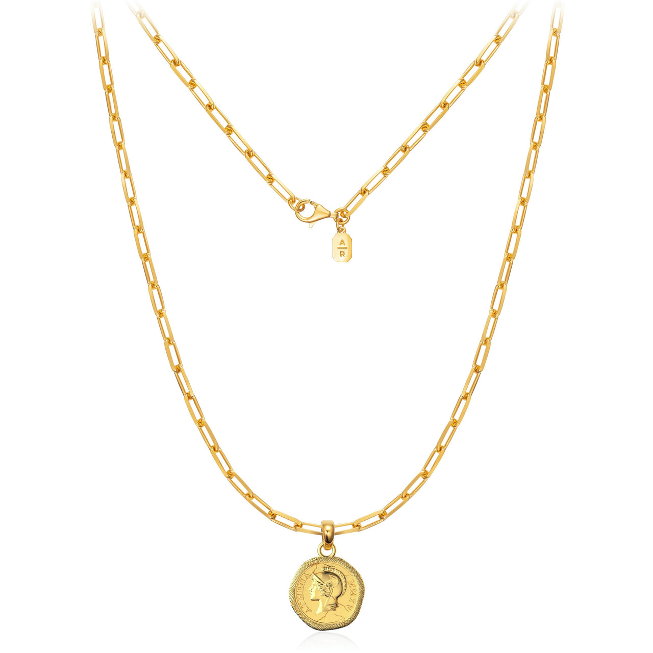 The Athena Coin Necklace