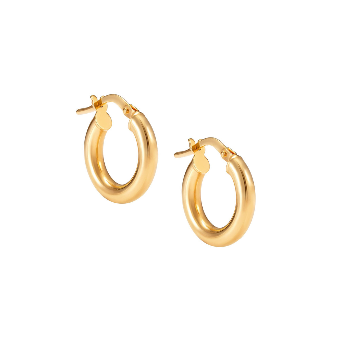 Mini Classic Gold Hoop Earring