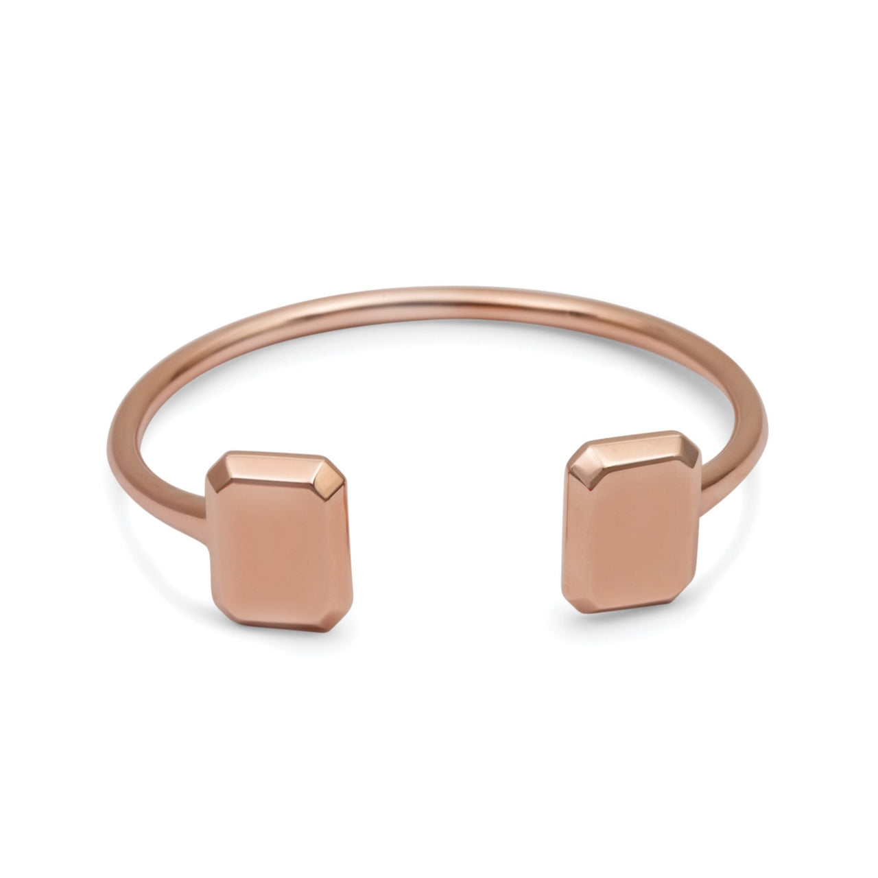 Emerald Bangle Rose Gold