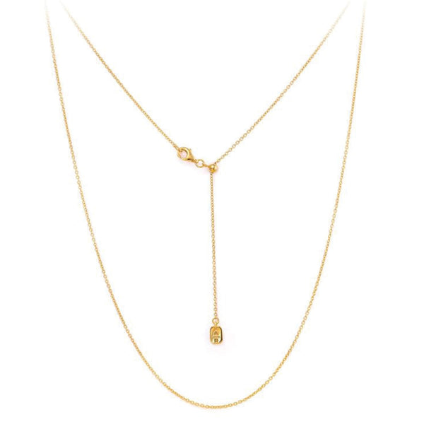 Chain Yellow Gold Adjustable