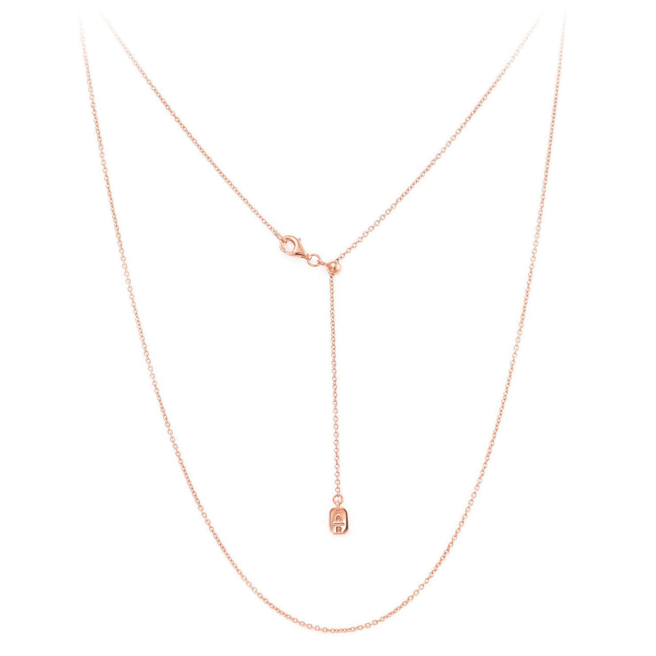 Emerald Chain Rose Gold
