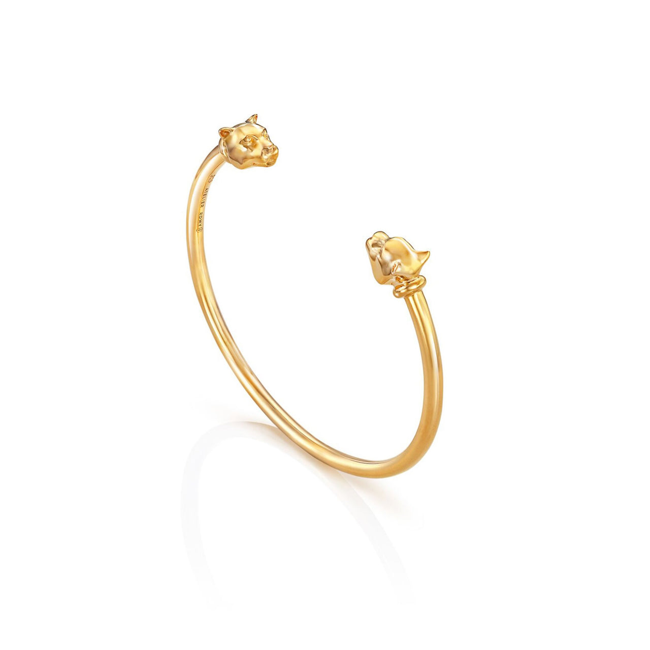 Leopard Bangle Yellow Gold - PRE ORDER