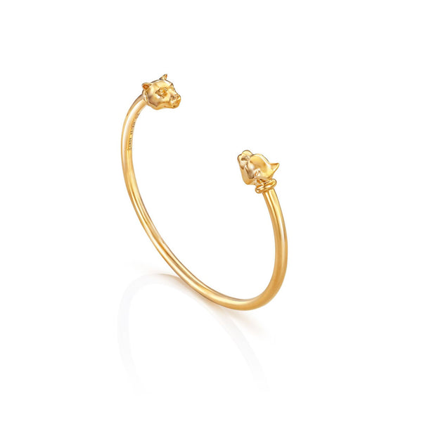 Leopard Bangle Yellow Gold