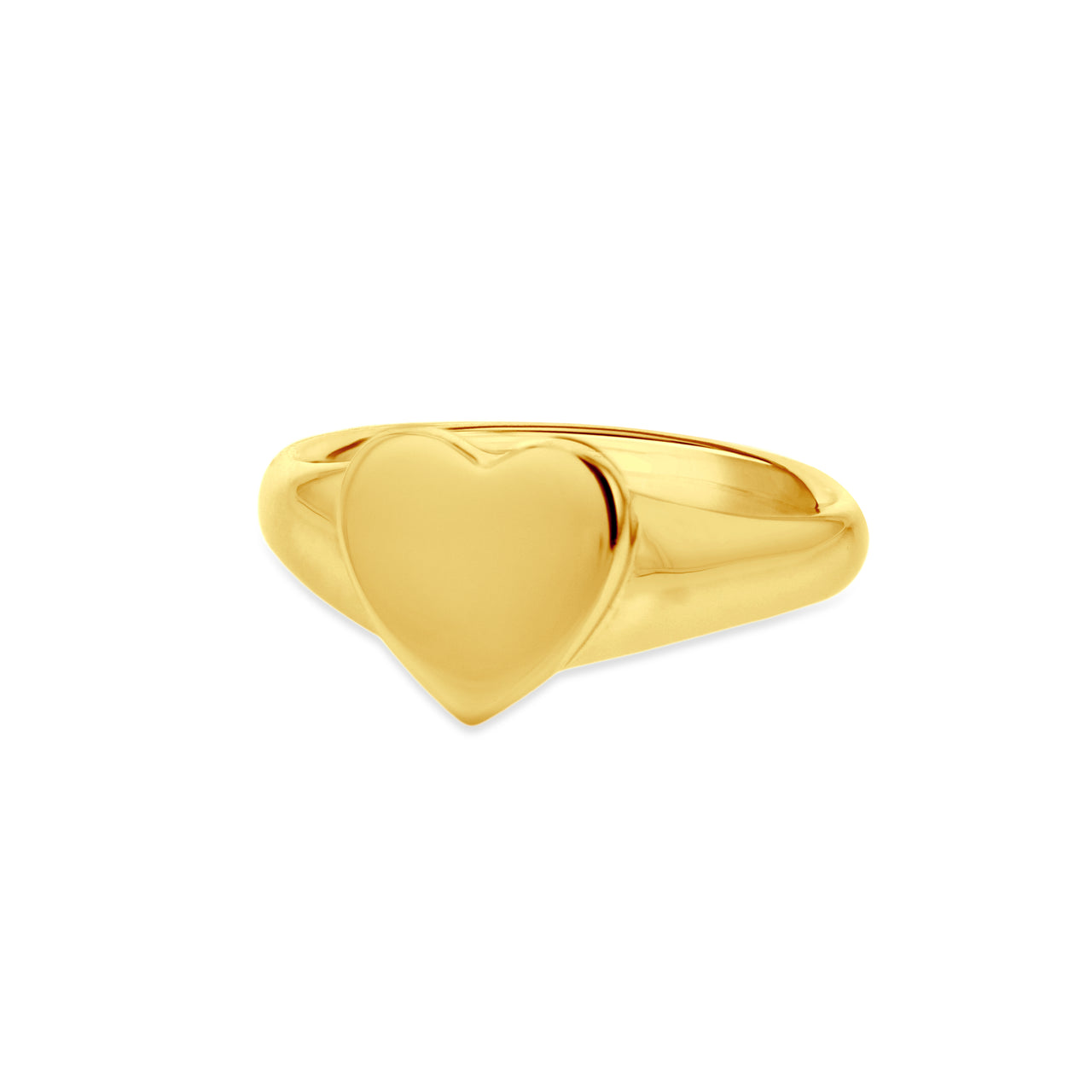 Amore Heart Signet Ring