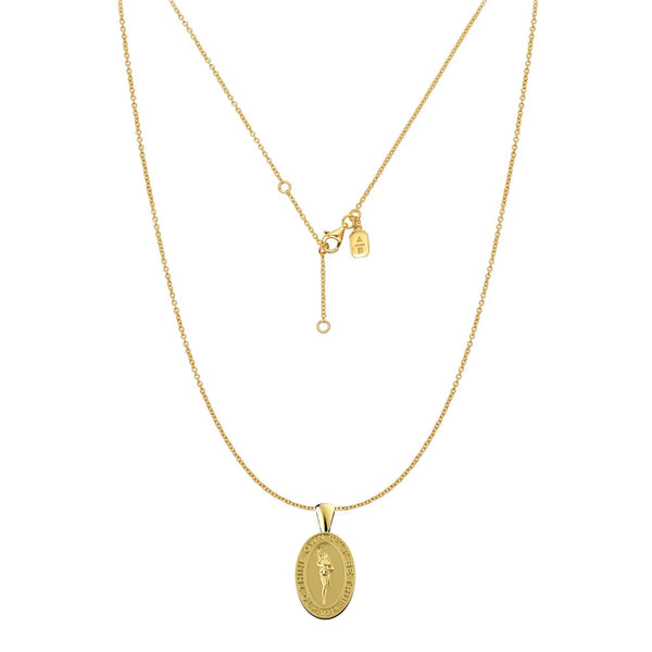 'The Hygeia' coin pendant necklace