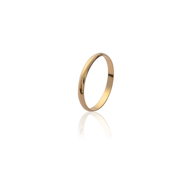 bague en or femme simple