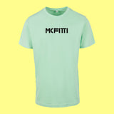 "MC FITTI T-SHIRT <br>""3 BALKEN"" , Mint"