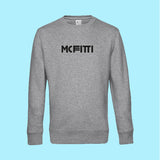 "MC FITTI SWEATSHIRT <br>""3 BALKEN"" , Grau"