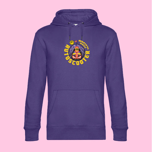 "MC FITTI HOODIE <br>""AUTOSCOOTER"" , Violett"
