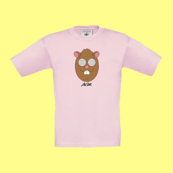 "MC FITTI T-SHIRT <br>""HAMSTER"" KIDS , Rosa"
