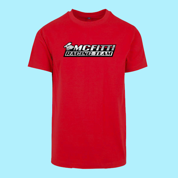 "MC FITTI T-SHIRT <br>""RACING TEAM"" , Rot"