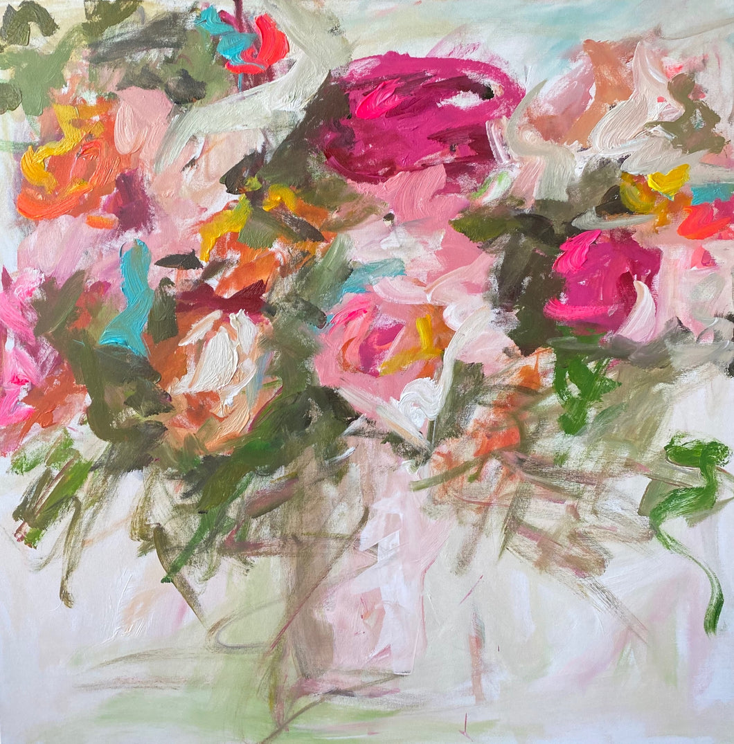 """Spring Bouquet"" - paper giclee print"