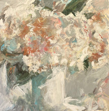 Load image into Gallery viewer, White Hydrangeas - Original painting - SOLD