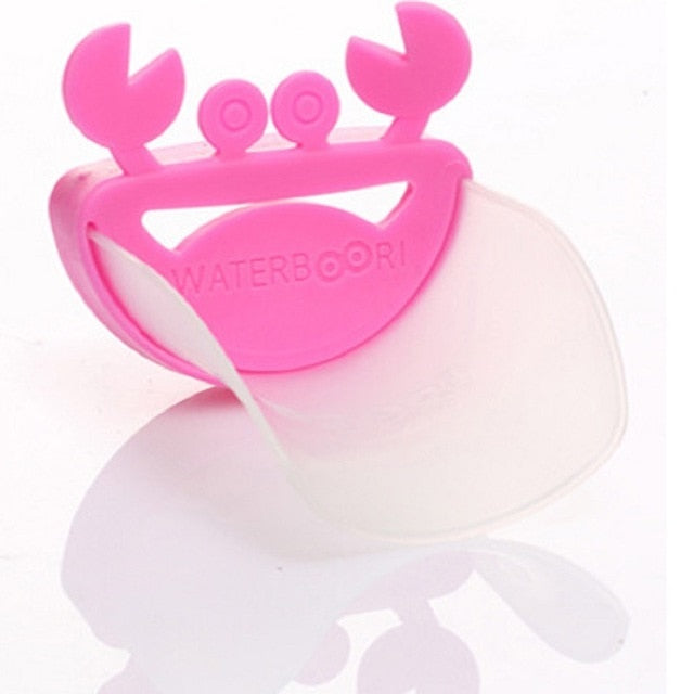 Silicone Baby Tubs crab design kids Faucet Extender children
