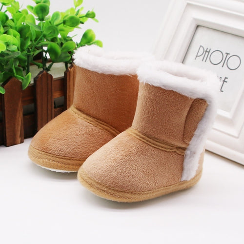 Newborn Baby Boots Winter First Walkers Tassel Baby Girls Shoes