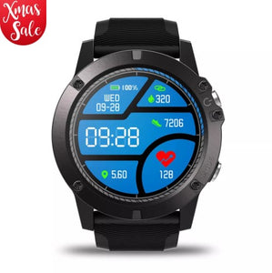Zeblaze VIBE 3 Pro Full Round Touch Real-time Weather Optical Heart Rate All-day Tracking Smart Watch – Black